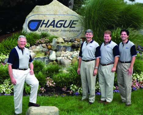 Hague Quality Water team